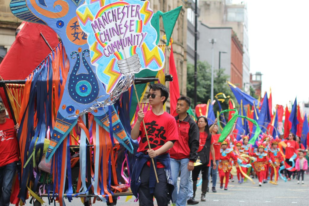 2016 Daniel He, Youth Leader of Manchester Day Parade