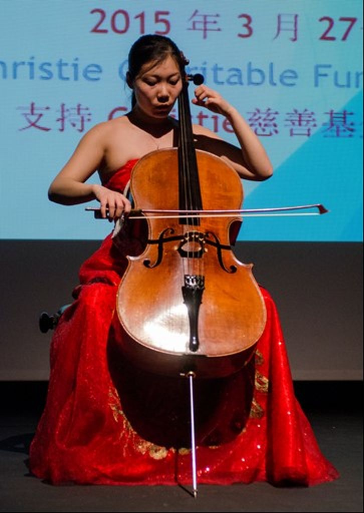 27 March 2015, teacher Ying Ying Han preform at Christie Fundraising Event