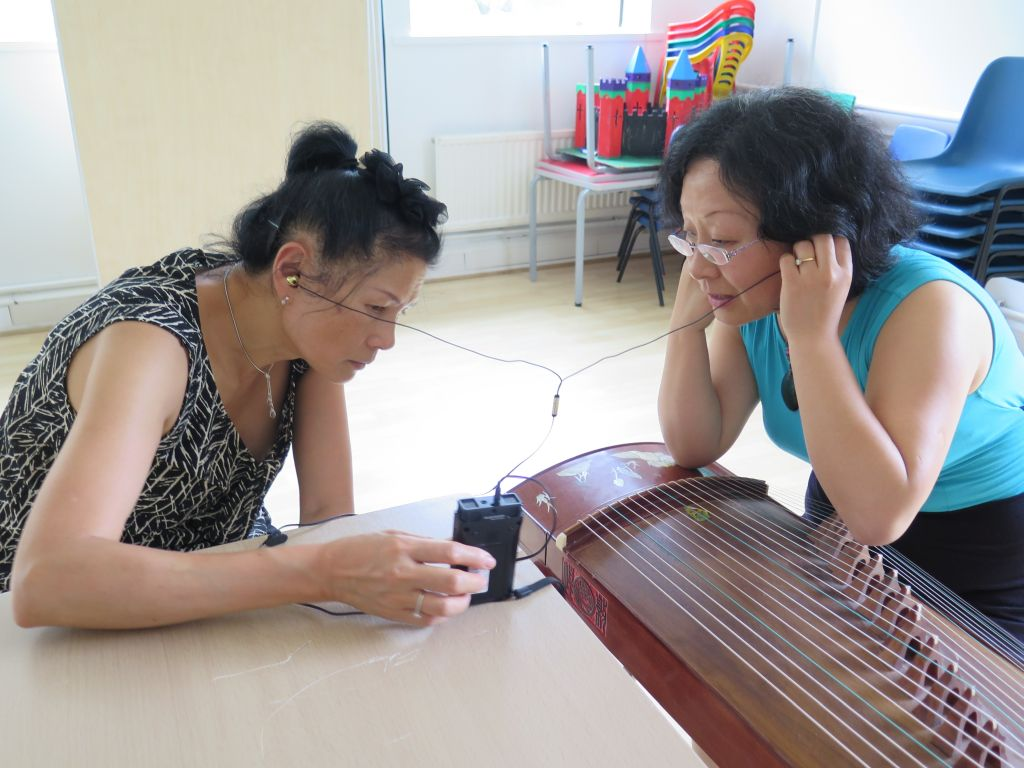 2016, musician Tong Peng composing music for Parade