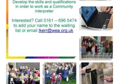 WEA Community Interpreting Courses Manchester