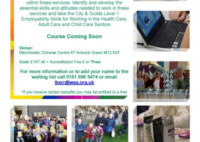 WEA Health and Social Care